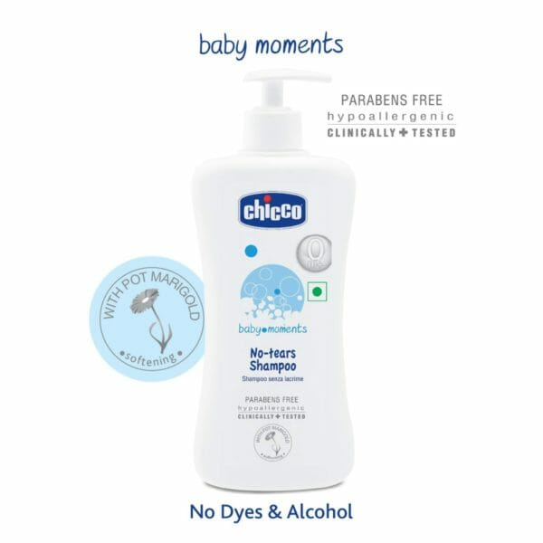 Chicco No-Tears Shampoo 500ml-0