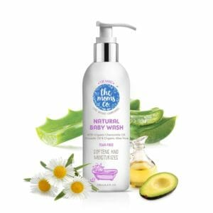 The Moms Co. Tear-Free Natural Baby Wash 200 ml-0